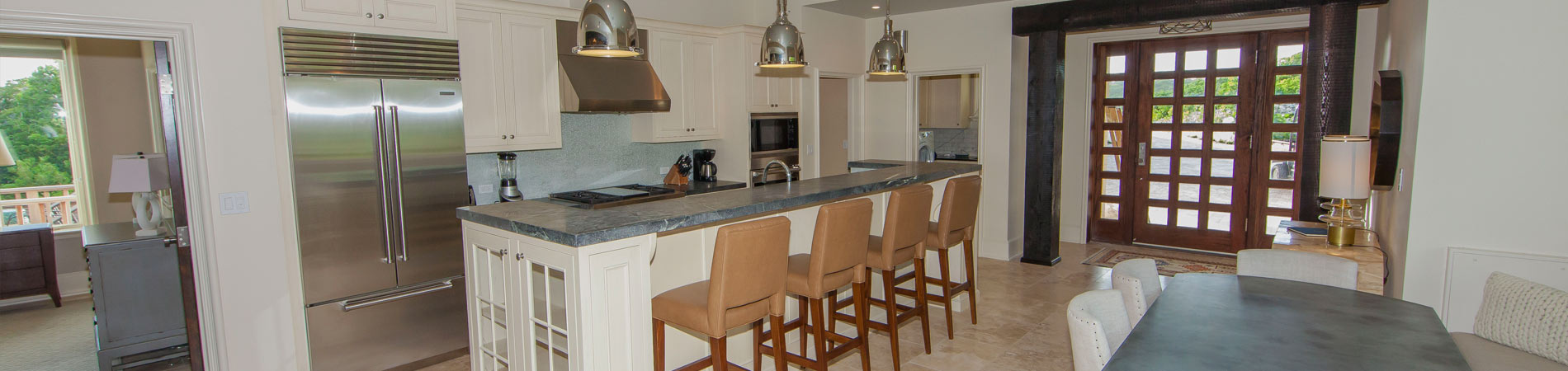 Staniel Cay Beach House Rental Kitchen